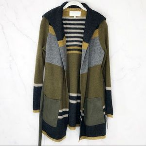 Anthropologie Angel of the North wool cardigan